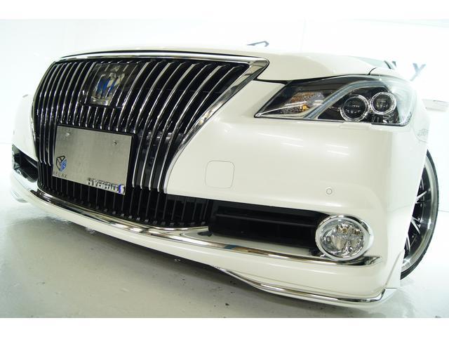 トヨタ クラウンマジェスタ Fバージョン革 新品モデリスタ 新品アルミタイヤ 新品車高調