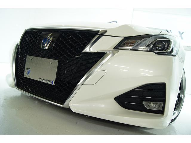 トヨタ クラウンハイブリッド アスリートS J-フロンティア 革 新品19アルミ新品車高調