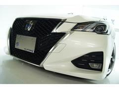 クラウンハイブリッドアスリートS J−フロンティア 革 新品19アルミ新品車高調