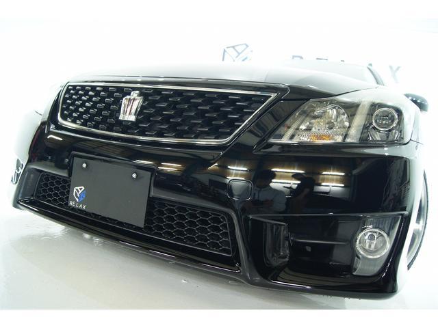 トヨタ クラウン 2.5アスリート アニバーサリーED本革新品車高調新品アルミ