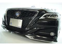 クラウンハイブリッドG 新品モデリスタ 新品車高調 新品BLIZフルタップ車高調