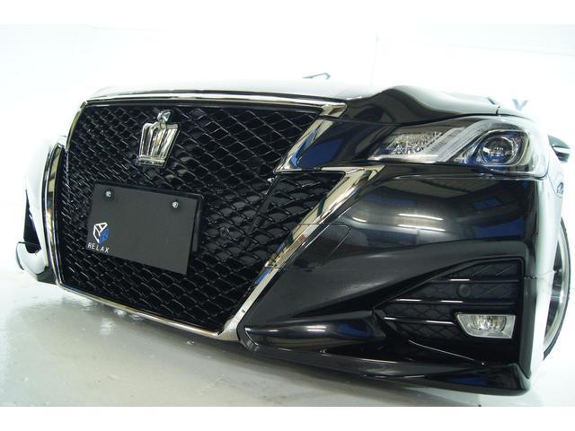トヨタ クラウン アスリートS-T純正エアロ新品19アルミ新品タイヤ新品車高調