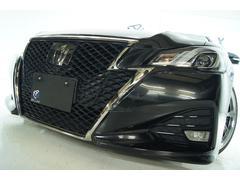 クラウンアスリートS−T 後期 新品19ホイール 新品タイヤ 新品車高調 LEDヘッドライト プレシャスブラックパール