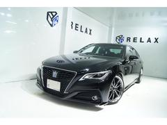 クラウンハイブリッドS 新品19ホイール 新品タイヤ 新品ブリッツ車高調 セーフティーセンス