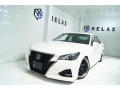 クラウンアスリートS−T 新品19ホイール 新品タイヤ 新品フルタップ車高調 Bluetooth対応マルチナビ ETC パワーシート 地デジ