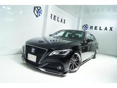 クラウンハイブリッドS 新品モデリスタ 新品19ホイール 新品タイヤ 新品BLIZ車高調 ハンドルヒーター シートヒーター 純正マルチナビBluetooth対応