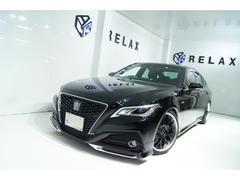 クラウンハイブリッド 新品モデリスタ 新品19ホイール 新品タイヤ 新品BLIZ車高調 シートヒーター ハンドルヒーター