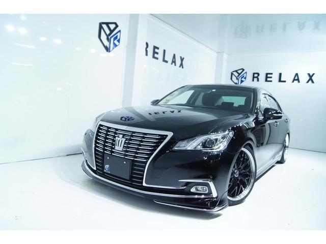 トヨタ ロイヤルサルーンG 新品モデリスタ 新品19ホイール 新品タイヤ 新品車高調 全席パワーシート シートメモリー ETC Bluetooth対応マルチナビ