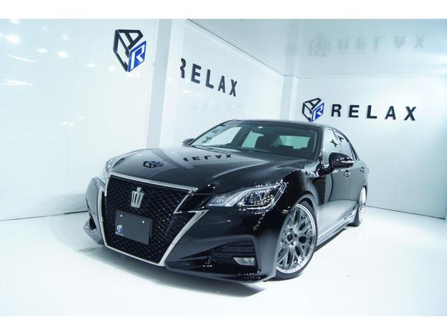 トヨタ クラウン アスリートS-T 新品19ホイール 新品タイヤ 新品車高調 Bluetooth対応マルチナビ パドルシフト ETC