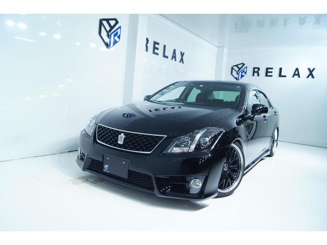 トヨタ 2.5アスリート アニバーサリーエディション 本革特別仕様車 新品19ホイール 新品タイヤ 新品車高調 シートヒーター シートクーラー 全ドアイージークローズ 電動リアシェード