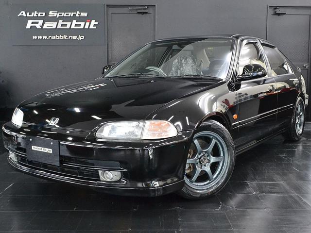 ホンダ SiR B16A 5MT クスコ車高調ゼロファイターマフラー