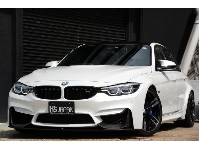 BMW M3 後期モデル BCレーシング車高調 カーボンエアロパーツ