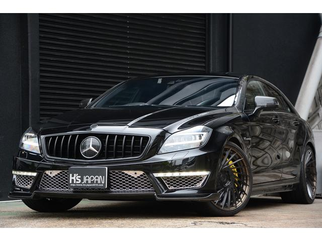 CLS63 AMG S AMSチューニング カーボンブレーキ