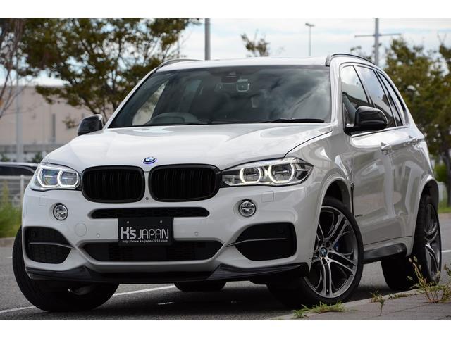 BMW X5 xDrive 35d Mスポーツ Mperformanceパーツ ブレーキ・ホイール・カーボンインテリア・カーボンエアロ・LEDエントランスカバー. マルチディスプレイメーター セレクトPKG コンフォートPKG 社外オーディオ