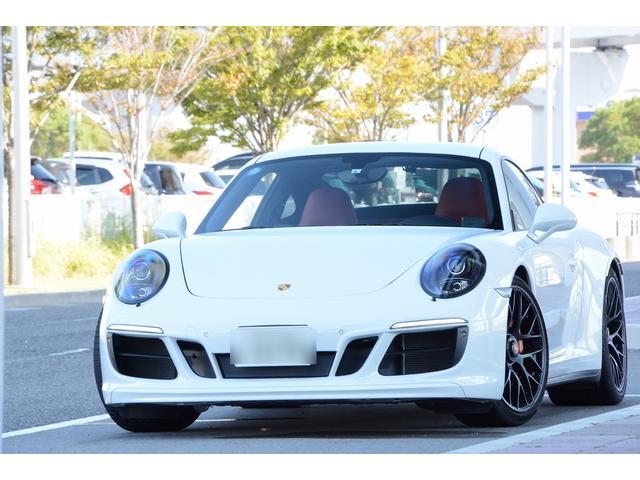 ポルシェ 911 911カレラGTS 後期フロントバンパー フルレザーインテリアパッケージ カラーメーターホワイト カラーストップウォッチホワイト 20インチセンターロックホイール レッドキャリパー