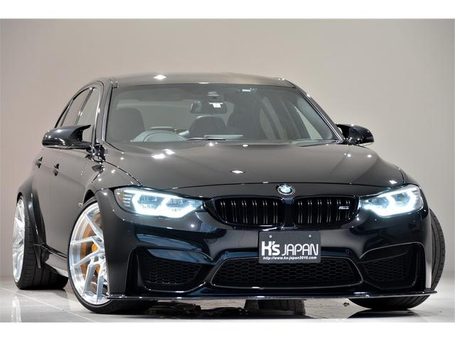 BMW M3 M3 KWver.3車高調 Mperformanceテールレンズ OSSデザインLEDヘッドライト JBLトレードインスピーカー WORK20インチAW ブレーキキャリパーペイント