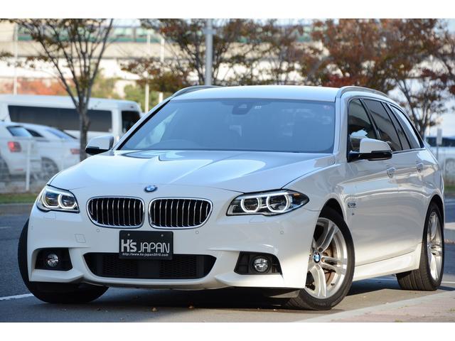 BMW 528iツーリング Mスポーツ コンフォートPKG シートベンチレーション&全席シートヒーター ハーマンカードンサラウンド マルチディスプレイメーター ブラックレザーシート アダプティブスポーツシート パワートランク