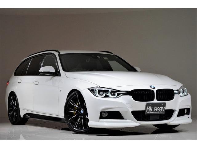 BMW 320dツーリング Mスポーツ KW車高調 Mperformance20インチAW Mperformanceテールライト デイライト ACシュニッツァーエアロ Mperformanceブレーキシステム REMUSマフラー