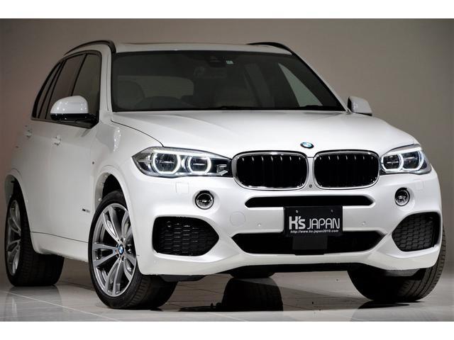 BMW X5 xDrive 35d Mスポーツ コンフォートPKG セレクトPKG パノラマルーフ ベンチレーションシート 全席シートヒーター 電動トランク アダプティブLEDヘッドライト 全周囲カメラ フルセグTV 20インチOPAW