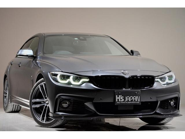 BMW 420iグランクーペ Mスポーツ OP合計約85万 3Dデザインマフラー カーボンフロントリップスポイラー カーボンリアスポイラー Mperformance リアディフューザー ディスプレイメーター アダプティブクルーズコントロール