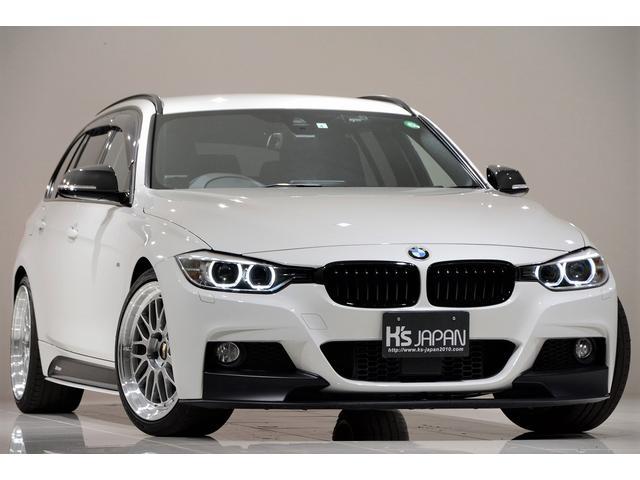 BMW 3シリーズ 320i xDrive Mスポーツ Mperformanceエアロ カーボンインテリア BBS19インチアルミ レムス4本出しマフラー LCIテール KW車高調 レザーシートカバー 地デジチューナー レーダー探知機 ドラレコ