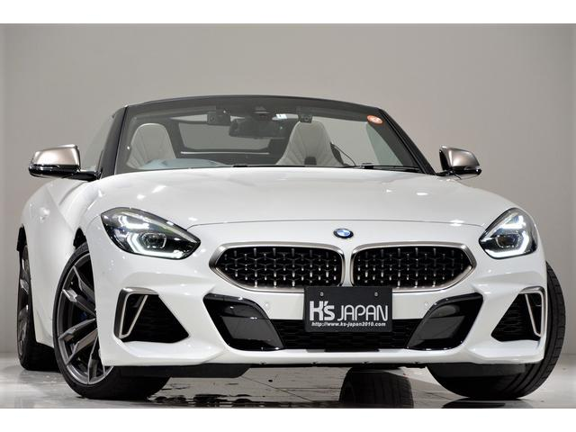 BMW M40i ワンオフマフラー(純正あり) イノベーションパッケージ アダプティブクルーズコントロール アイボリーホワイトシート 置くだけ充電 ユピテル LS310レーダー探知機 BMW純正ドライブレコーダー