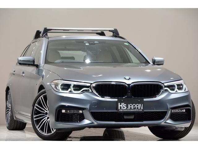 BMW 530iツーリング Mスポーツ 1オーナー セレクトPKG イノベーションPKG ハイラインPKG アドバンスPKG ルーフキャリア ディスプレイキー 置くだけ充電 Mスポーツブレーキ ヘッドアップディスプレイ