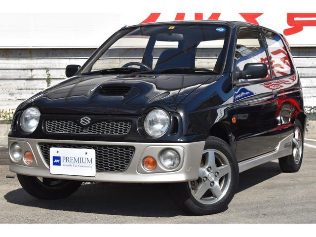 スズキ アルトワークス RS/Z RSZ(4名) 4WD 純正サイドステップ 純正13インチアルミホイール フォグ 外品CDオーディオ