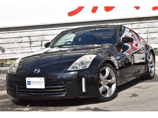 日産 バージョンST ブラックレザーシート シートヒーター パワーシート 純正18インチアルミ ブレンボキャリパー HIDヘッドライト BOSEサウンドシステム ETC フルセグTV