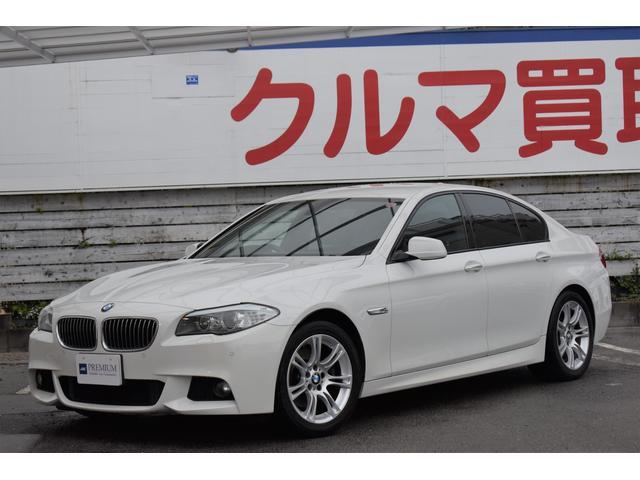 BMW 5シリーズ 528i Mスポーツ 黒革シート 純正HDDナビ フルセグTV バックカメラ アクティブクルーズコントロール Mスポーツ18インチAW コンフォートアクセス シートヒーター