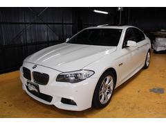 BMW523i Mスポーツ サンルーフ 黒革 HDDナビ