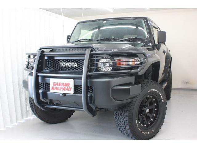 トヨタ ブラックカラーパッケージ オーバーフェンダー リフトアップ