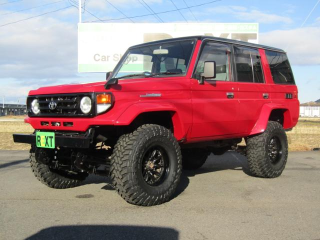 LX 軽油 4WD 新品タイヤ 全塗装済 リフトアップ公認