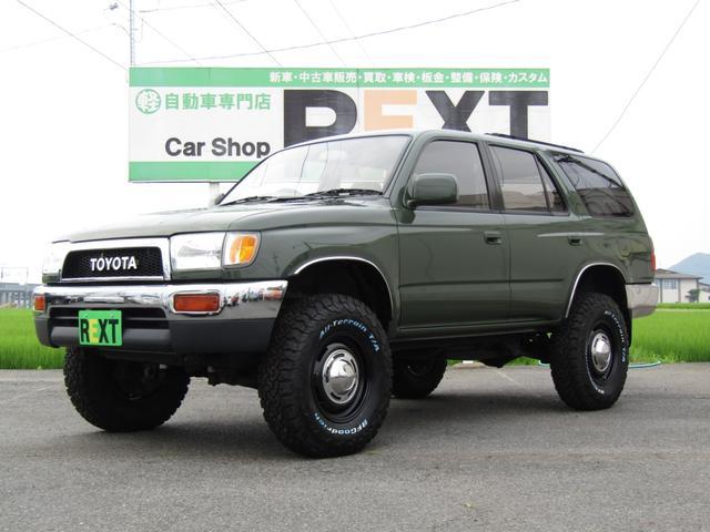 トヨタ SSR-Xワイド 4WD 4RUNNERスタイル リフトUP