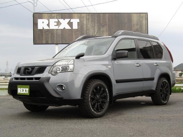 日産 20X 4WD 全塗装 社外17AW 新品MTタイヤ ナビ ETC ハイパールーフレール