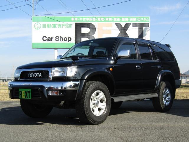 トヨタ SSR-V ブラックナビゲーター 4WD TOYOTAクラシックメッキグリル キーレス 背面タイヤ