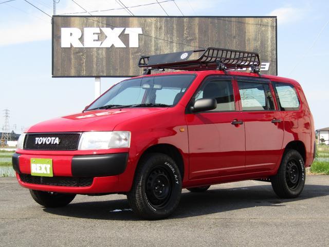 トヨタ DXコンフォートパッケージ 全塗装 リフトUP ルーフラック 新品ATタイヤ ナビ