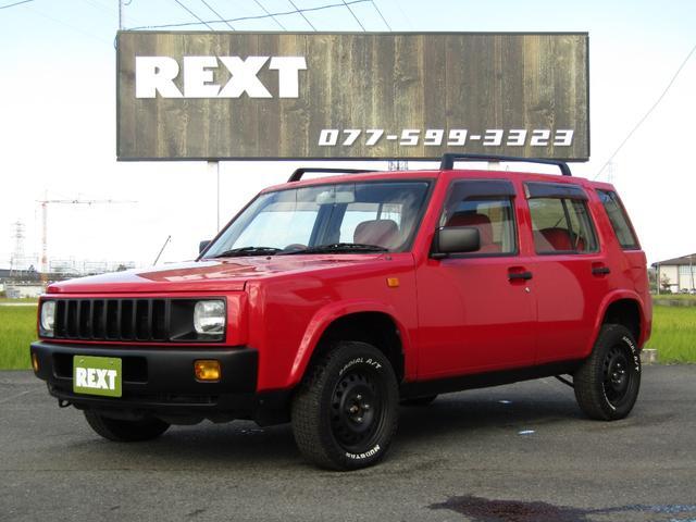 日産 タイプL 4WD リフトUP ホワイトレターT 赤革調シート ETC 新品フロアマット