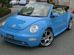 VW ニュービートルカブリオレプラス HDDナビ フルセグテレビ 新品タイヤ 社外18