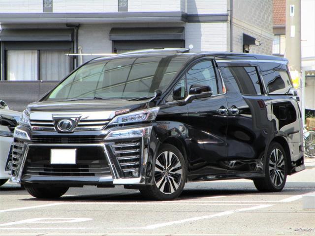 トヨタ 3.5Z G ワンオーナー 禁煙車 サンルーフ 両側パワースライドドア 後席モニター LEDヘッドライト クリアランスソナー バックカメラ オットマン ETC