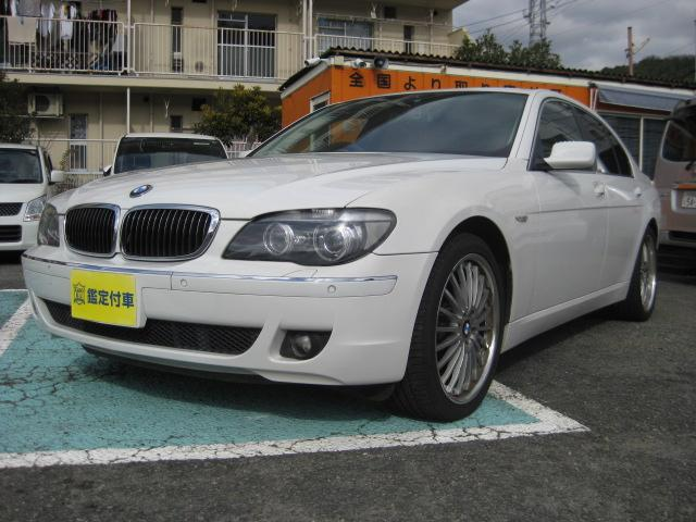 BMW 740i 黒革 SR コンフォートPKG 20AW ソナー