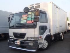コンドル中温冷蔵冷凍車 積載3.4t エバボレーター2機 縞アルミ床