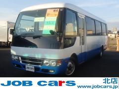 ローザ中型送迎バス スーパーロング33人乗り オート折扉ドア