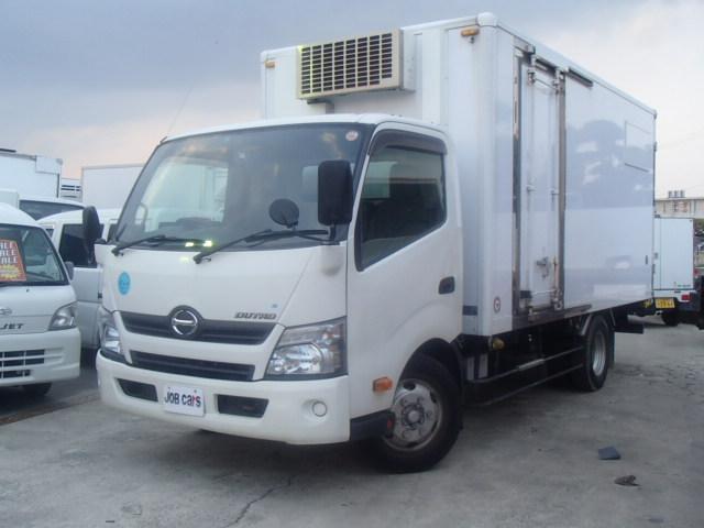日野 冷蔵冷凍車 2室式 2.95t積 AT 左スライドドア