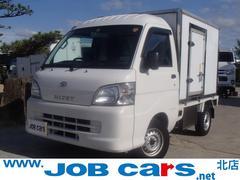 ハイゼットトラック冷蔵冷凍車 −22℃設定 左引戸 AT バックモニター