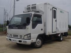 エルフトラック移動販売車 2.9t 冷凍機 −5℃設定 ナビ 棚 AT