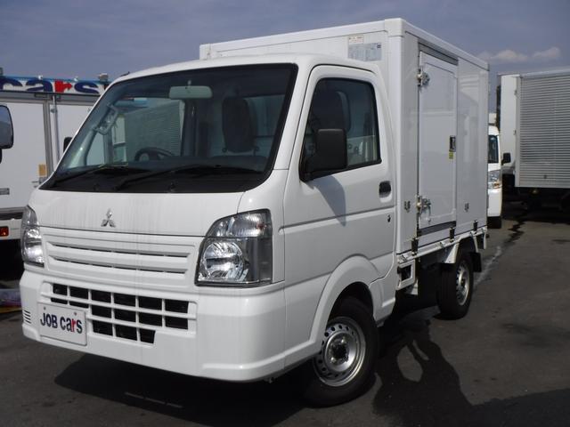 三菱 冷蔵冷凍車 中温 -5℃設定 届出済未使用車 AT 引戸