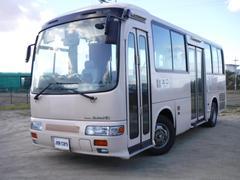 ジャーニーバス路線バス 36人乗 総輪エアサス 自動ドア 昇降リフト