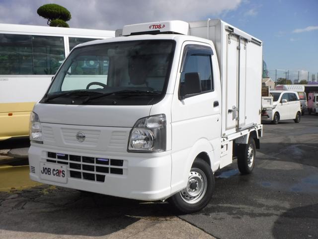 冷蔵冷凍車 低温 -30℃設定 AT バックモニター