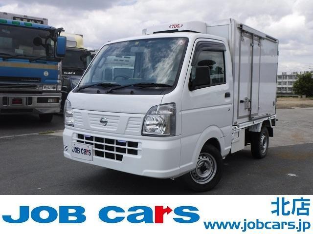 日産 冷蔵冷凍車 低温 -30℃設定 AT バックモニター 4WD